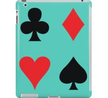 card suits iPad Case/Skin