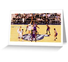 The Tip Off.... Greeting Card