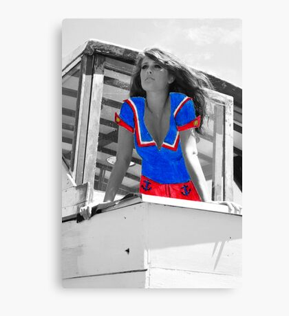 Sailor Paper Doll Canvas Print