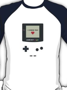 Gameboy I choose you  T-Shirt