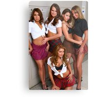 School of hard knocks Metal Print