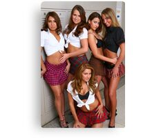 School of hard knocks Canvas Print