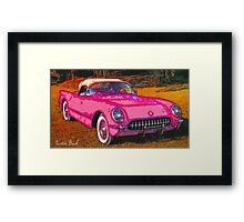 Pink-Passion-Car-Justin Beck-picture-2015109 Framed Print