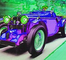 Purple-Car-Justin Beck-picture-2015101 by Justin Beck