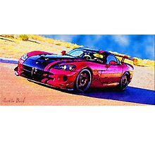 Race-Car-Justin Beck-picture-2015107 Photographic Print