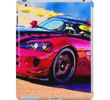 Race-Car-Justin Beck-picture-2015107 iPad Case/Skin