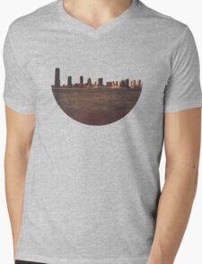 Skyless Composition 2 | One Mens V-Neck T-Shirt