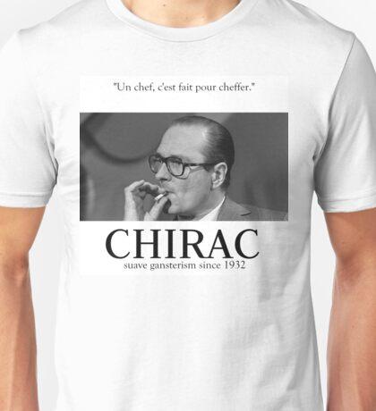 Fuck Oui Jacques Chirac Unisex T-Shirt