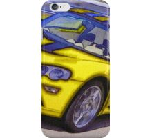 Yello-Car-Justin Beck-picture-2015102 iPhone Case/Skin