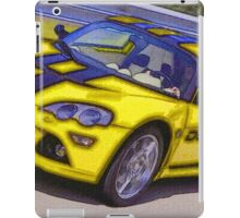 Yello-Car-Justin Beck-picture-2015102 iPad Case/Skin