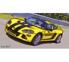Yello-Car-Justin Beck-picture-2015102 Photographic Print