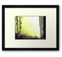 Mystery Light Framed Print