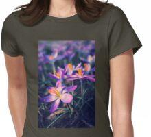 Crocus Womens Fitted T-Shirt