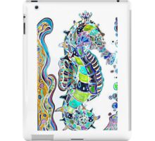 Seahorse water colours iPad Case/Skin