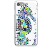 Seahorse water colours iPhone Case/Skin