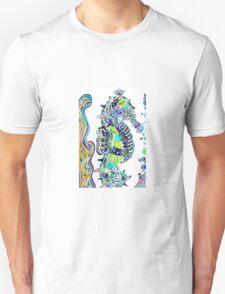 Seahorse water colours Unisex T-Shirt