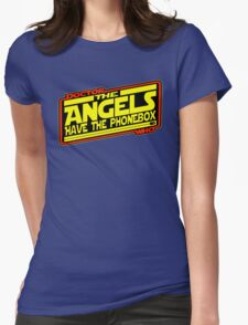 Doctor Who: The Angels Strike Back Womens Fitted T-Shirt