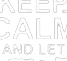 Keep Calm and Let Edward - T - Shirts & Hoodies Sticker
