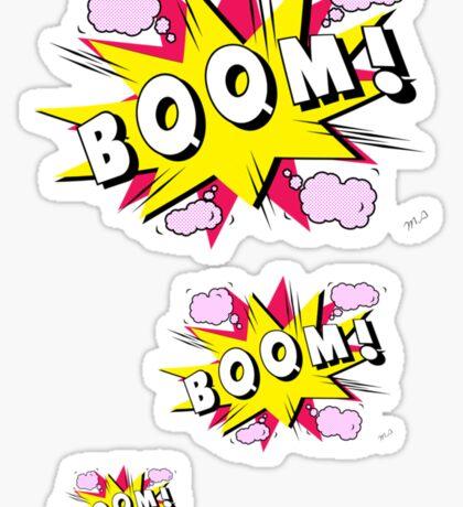 boom Sticker