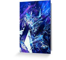 Structured chaos \1 Greeting Card