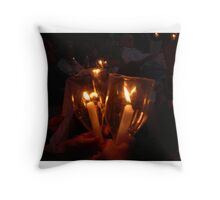 Light a candle for you... Throw Pillow