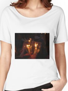Light a candle for you... Women's Relaxed Fit T-Shirt