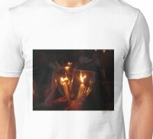 Light a candle for you... Unisex T-Shirt