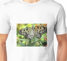 Yellow and black-spotted Butterfly Unisex T-Shirt