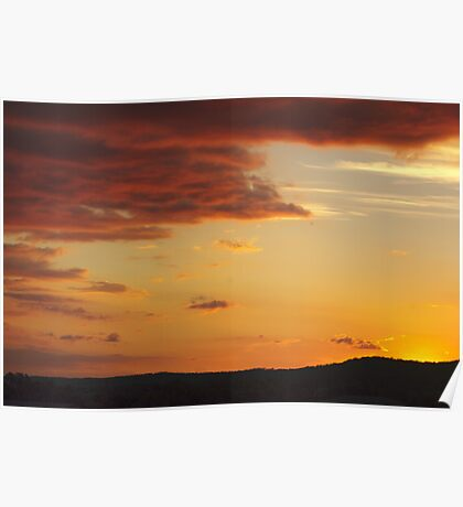 Thulimbah Sunset Poster