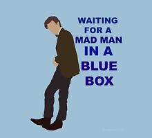 Doctor Who- 11th Matt Smith- Mad man in a blue box  Unisex T-Shirt