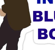 Doctor Who- 11th Matt Smith- Mad man in a blue box  Sticker