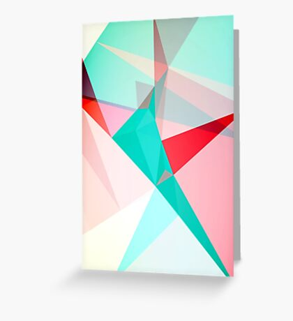 FRACTION - Abstract Graphic Iphone Case Greeting Card