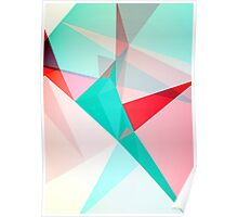 FRACTION - Abstract Graphic Iphone Case Poster
