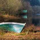 Loch Ard Boat by Empato Photography