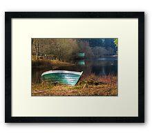 Loch Ard Boat Framed Print