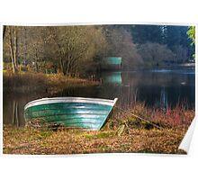 Loch Ard Boat Poster