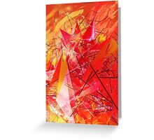 Structured chaos \2 Greeting Card