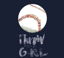 Throw Like a Girl One Piece - Long Sleeve