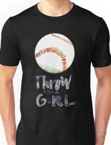 Throw Like a Girl Unisex T-Shirt