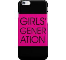 Girls' Generation iPhone Case/Skin