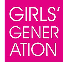 Girls' Generation Photographic Print