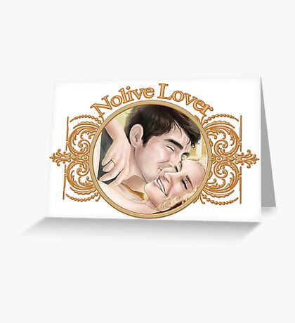 Nolive FanSticker Greeting Card