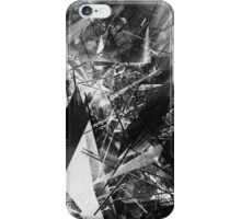 Structured chaos \4 iPhone Case/Skin