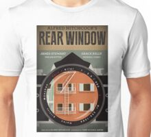Rear Window alternative movie poster Unisex T-Shirt