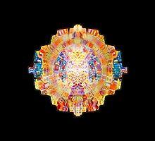 Mandala - Psychedelic Geometry  by strangeinkling