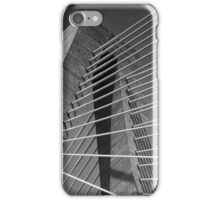 Towers and Cables (B&W) iPhone Case/Skin