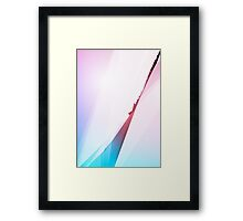 SHARP - Abstract Graphic Iphone Case Framed Print