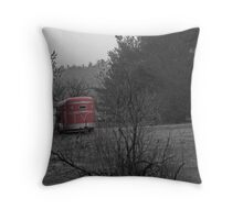 Grey Sky Morning Throw Pillow