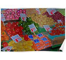 vegetable market Poster