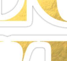 LOVE Faux Gold Foil Sticker